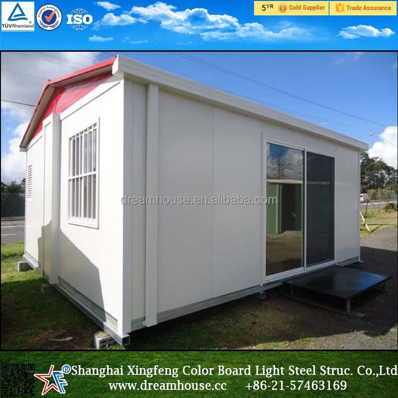Extended living prefab container Cabin/ Foldable Container House/40FT Expandable Foldable Prefab Container Homes