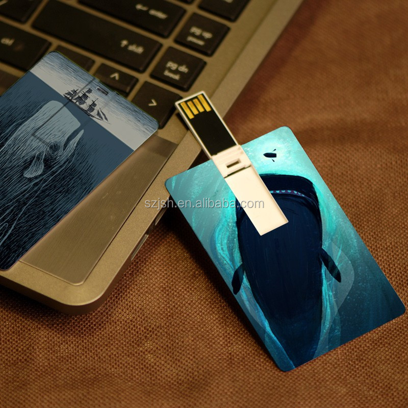 Free sample Both sides Printed Credit Card Pendrive USB 3.0 Card USB Memory Stick Business Card USB Flash drive 8GB 16GB 32GB