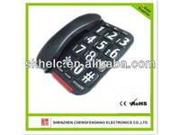 Basic telephone,Big button telephone of gifts for the elderly,Emergency function telephone in 2014