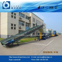 Agriculture plastic film washing recycling machine with CE certificate