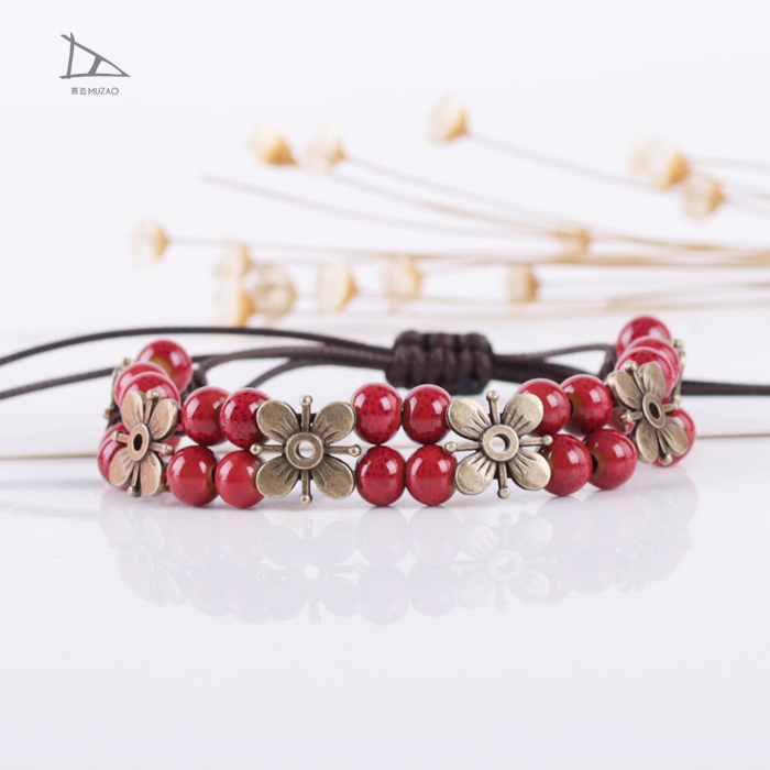 Making supplies fashion jewellery bangle ceramic metal bangle accessories bracelet