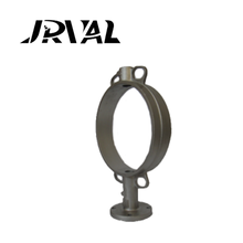 JR butterfly valve body stainless steel casting