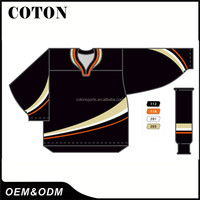 Factory price newest customized funny hockey shirts canada for sale