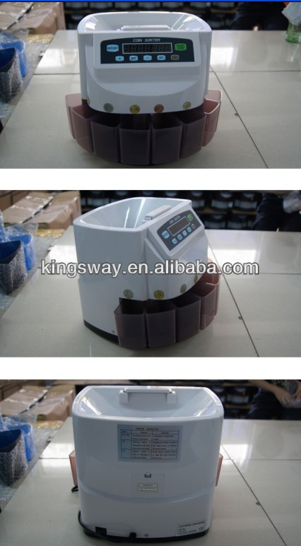 2013 Portable Euro Coin Counter for Shop(KSW550G)