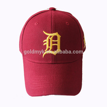 Fancy high quality baseball cap with plastic cover