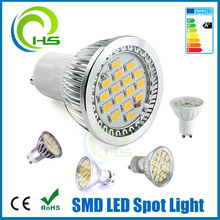 Super Bright glass material warm white gu10 led 24 smd 5050/gu10 led 24 smd 5050 lamp