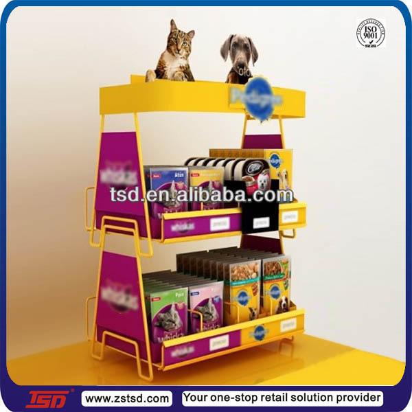Retail Cat Food Display
