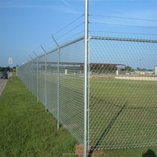 Hot Dipped Galvanized Chain Link Fence /PVC Coated Chain Link Wire Mesh