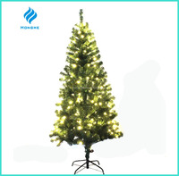 2016 new 4ft artificial PVC LED christmas tree 182 tips for christmas decoration