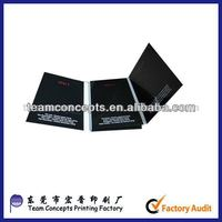 paper CD case VCD box DVD case made in China