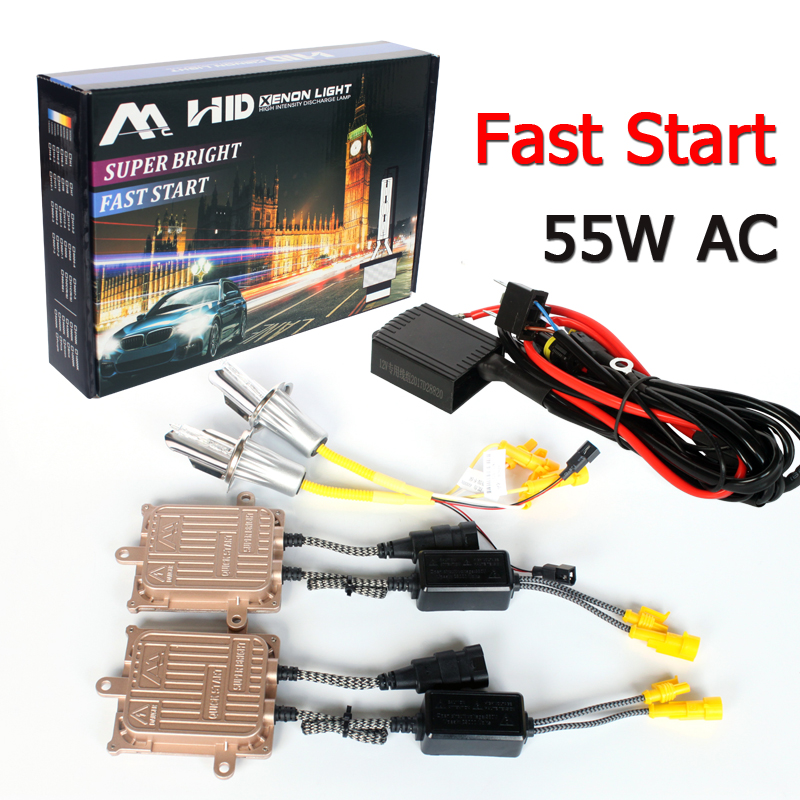 2020 new car accessories h1 h3 h4 h8 h9 <strong>h10</strong> h11 h7 h13 9004 9007 9005 9006 bulb socket 55w ac kit xenon hid fast start ballast