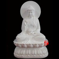 hand carved stone large buddha statues for sale