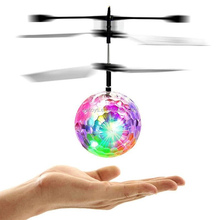 Flying RC Ball Led Flashing Light Aircraft Helicopter,magic flying ball