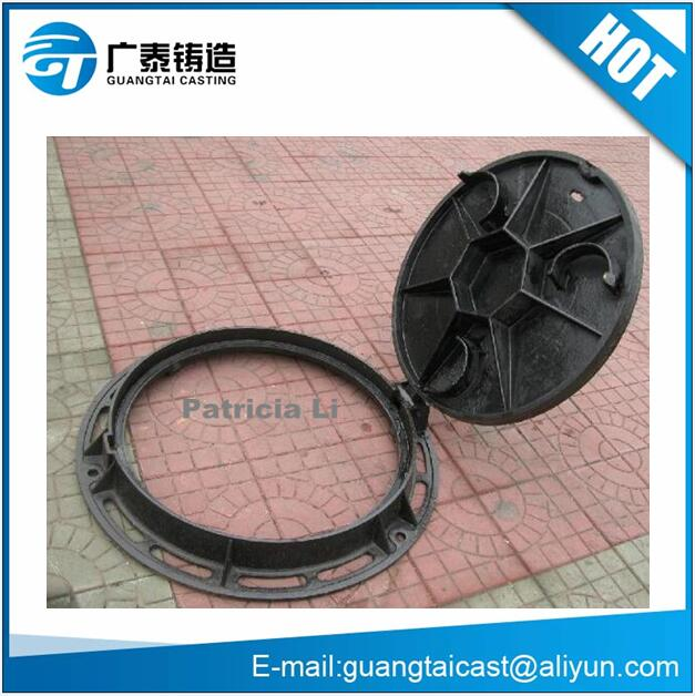 Ductile/Grey cast iron manhole cover with frames
