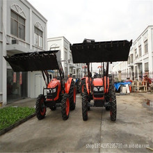 30HP small farm equipment tractor with backhoe for efficient work