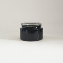 5g lip balm pots small clear black painted lip balm jar