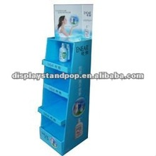 retail counter cardboard hand soap display
