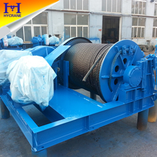 Fast line speed electric winch for sale