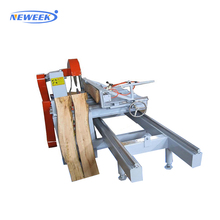 NEWEEK high precision wood sliding table saw machine saw mill wood cutting saw