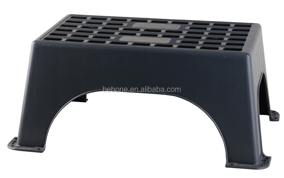 Manufacturer Supply Safety Plastic Padded Stool Plastic Two Step Stool Bathro