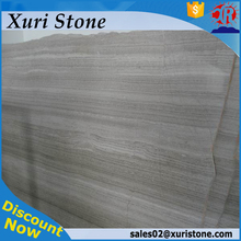 chinese grey wooden grain marble tiles and wooden grain marble slabs