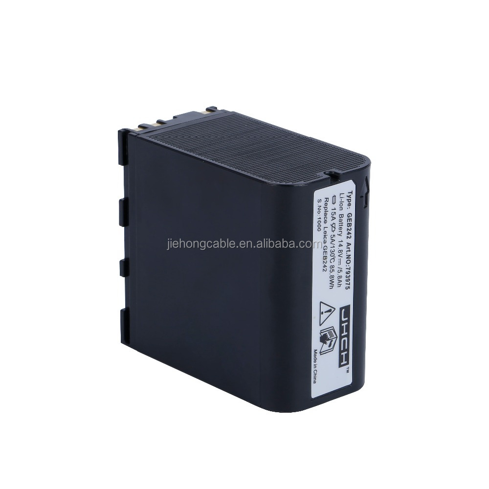 Brand new 14.8V 6000mAh GEB242 Li-ion battery for TS30 and TM30 Total Station