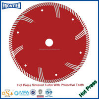 china small blade segmented diamond saw blade for edge cutting