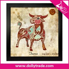 Aries! modern abstract zodiac canvas art painting 60*60 canvas