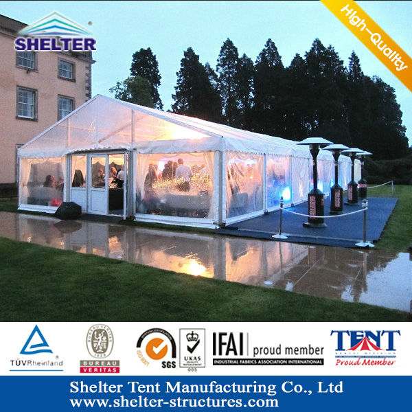 Beijing Shelter S - series waterproof party tent/canopy covers PVC coated fabric for outdoor