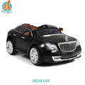 Luxury rechargeable battery operated toy car, with light and music, big baby car, strong toy car with remote control WDA198