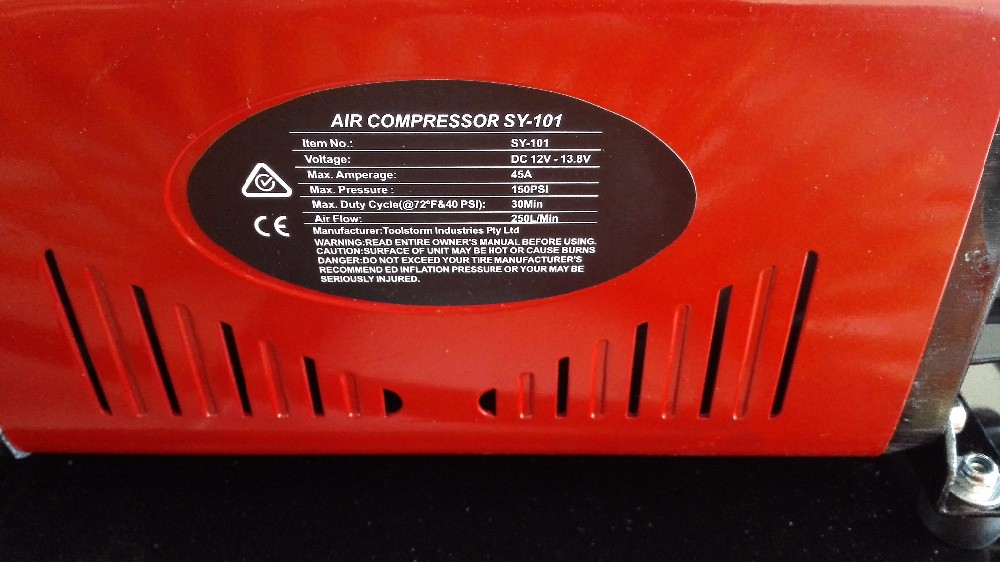 NEW 12V 4x4 Portable Air Compressor Car Tyre Inflator Tire Deflator 4wd