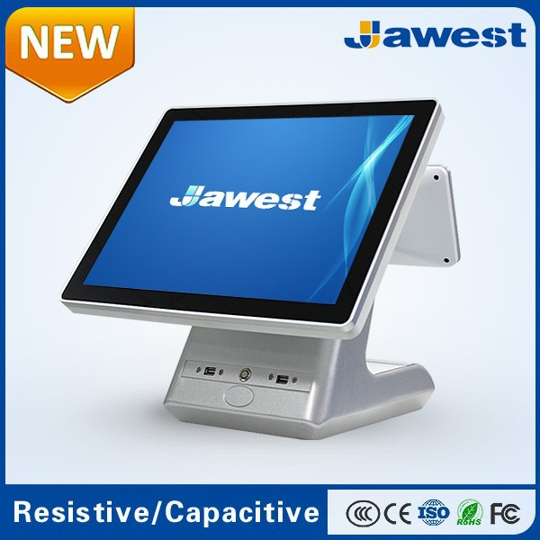 "2015 New Design 9.7""/ 15"" All in One Touch Screen POS System for Retail/Restauran"