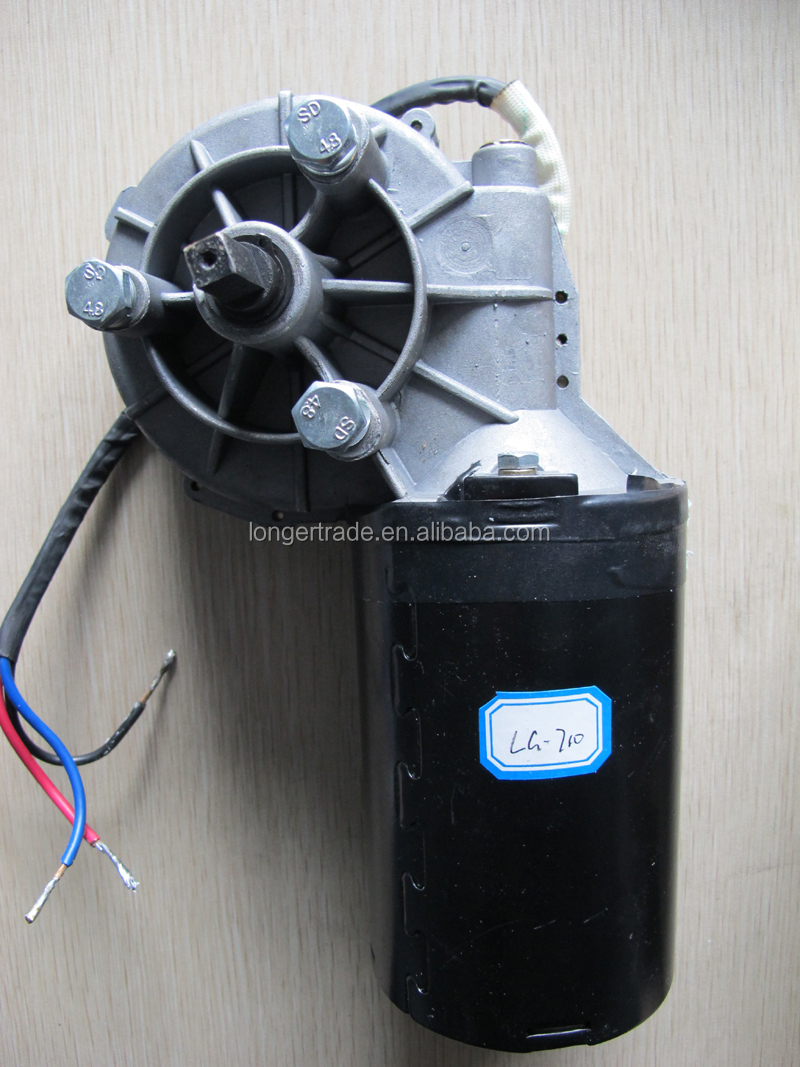 China factory supply 24V heavy duty Door/Garage lift motor with square axis