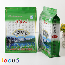 Hot selling resealable aluminum foil wrapped packaging green tea bags