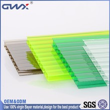 100% Virgin Bayer Material Transparent Plastic Roof for Green House
