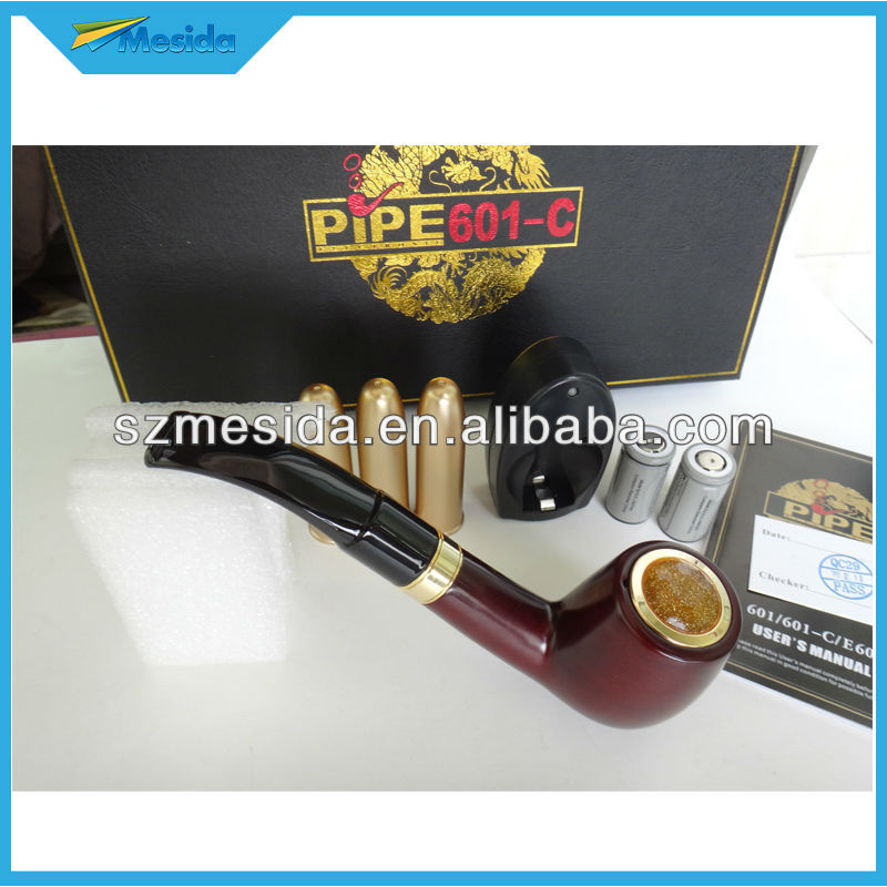 Updated version epipe 601,wooden pipe 601-c electronic cigarette newest