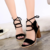 lx10374a 2017 summer lady sandal fashion women shoes china cheap sandals