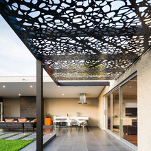 outdoor perforated metal ceiling