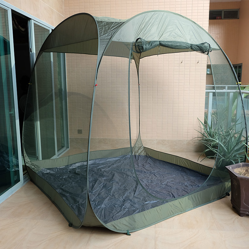Portable Gray Outdoor Tent Canopy For Travel