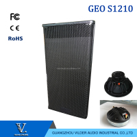 Vilder audio single 12 inch top line array hot sale black line array geo s1210 speaker manufacturers