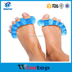 Separator Stretcher Blue Gel Bunion Splints, cool predicure toe spacer, Ease Pain of Bunion