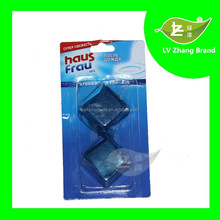 2015 High Quality 50g 2Pack Blue Bubble Solid WC Toilet Cleaner block