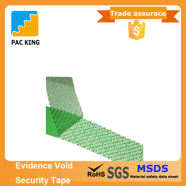 Lower Price Tamper Evident Security Tape Void Label