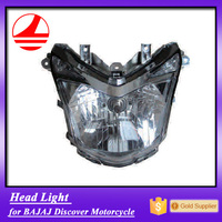China Factory motorcycle spare head light bajaj discover 125 parts