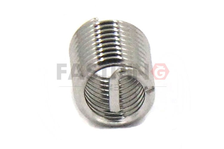 DIN8140 coiled compression spring wire thread  Heli Coil insert coarse teeth self locking