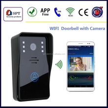 Wholesale Intercom Long Distance, Wireless Wifi Wireless Video Doorbell 130 Degree Camera With Night View