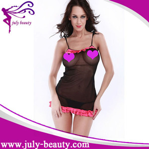 Female Underwear Lady In Lingerie Transparent Sexy Adult Girl Babydoll Open