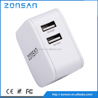 CE,RoHS,FCC Approved custom dual usb charger ,OEM quick deliver power sockets for Iphone Samsung