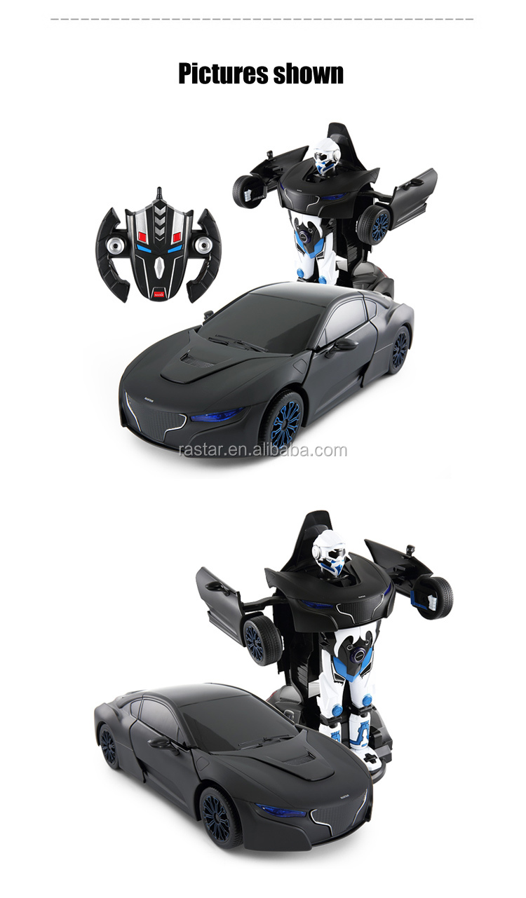 Rastar new product robot toy vehicle rc car with music
