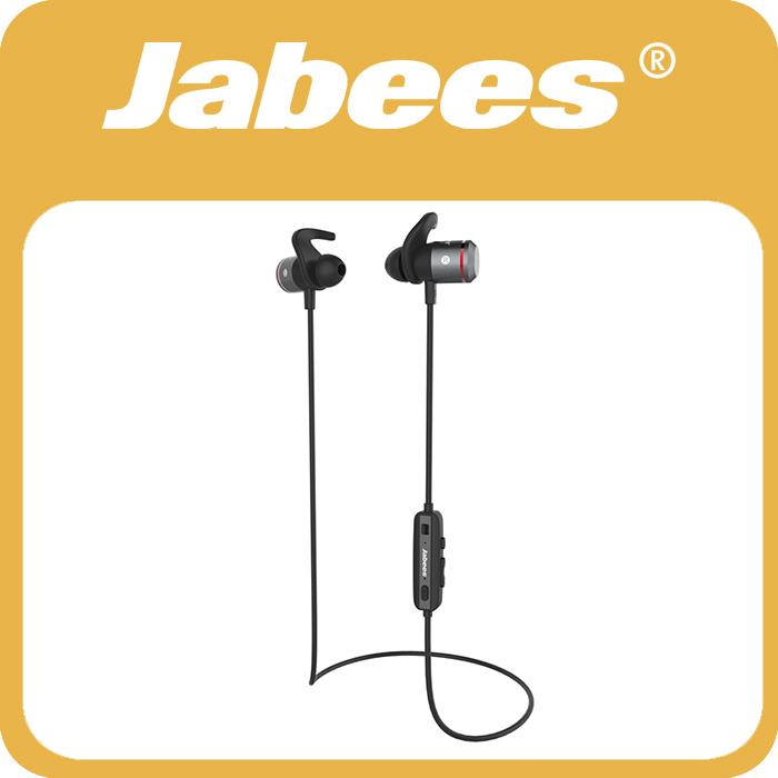 Jabees AMPSound Waterproof Wireless Bluetooth Music Headset Rechargeable Personal Sound Amplifier Digital Hearing Aid Battery